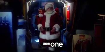 Doctor Who Nick Frost Santa