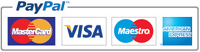 PayPal and debit / credit cards we accept
