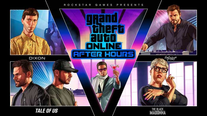 GTA After Hours DJs