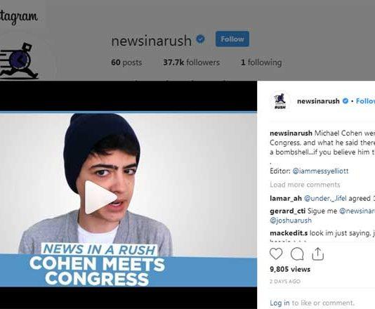 News in a Rush by Disney Channel star Josh Rush